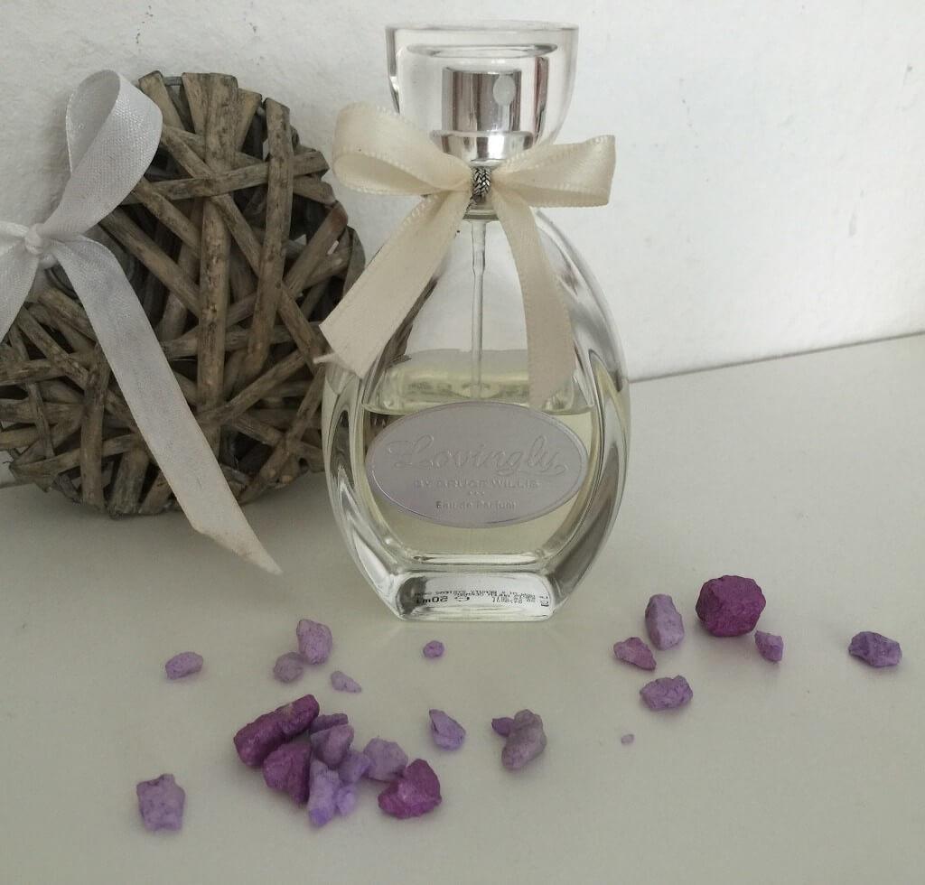 LR Parfum Lovingly by Bruce Willis Flacon Deko