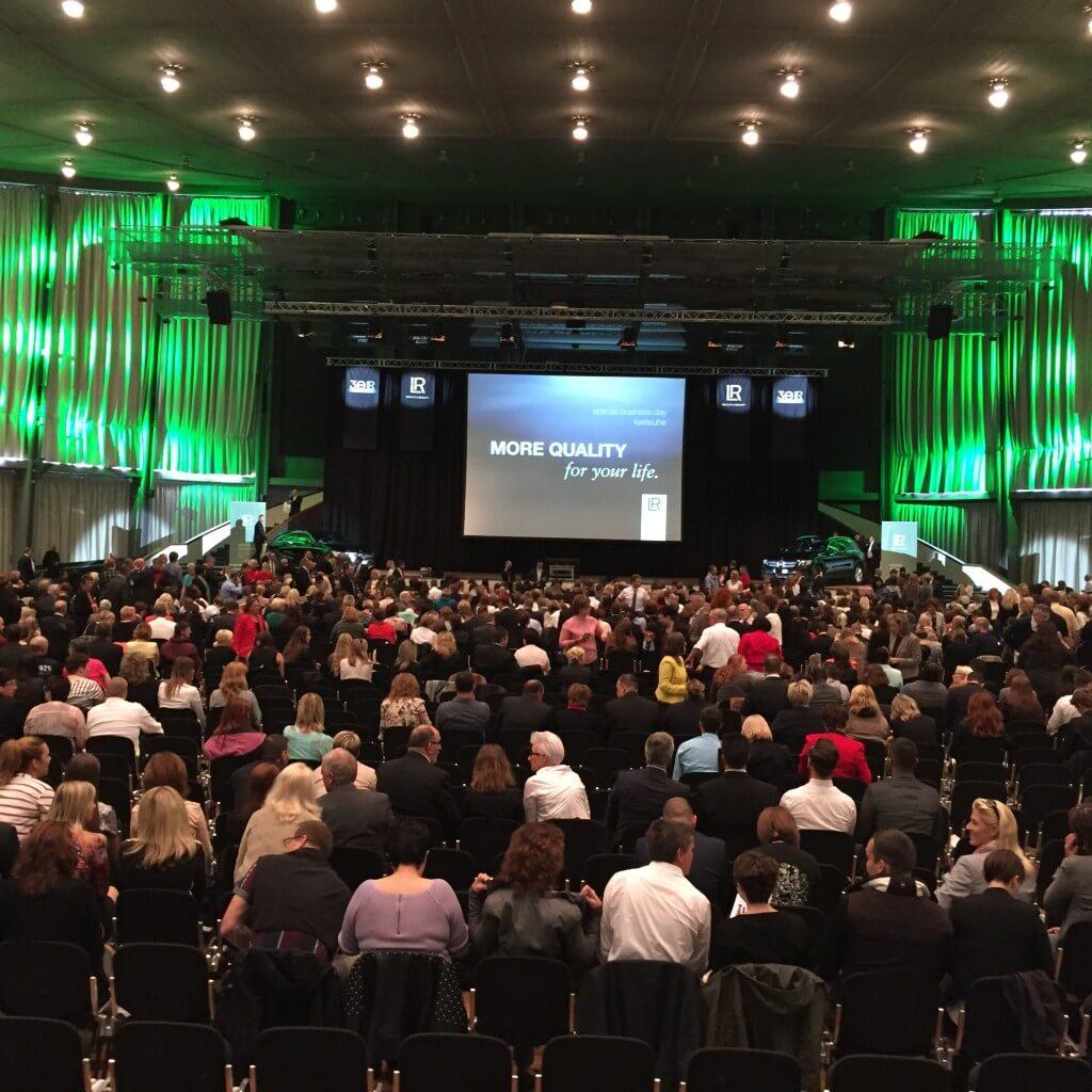 LR Special Business Day Karlsruhe 2015 Kongresshalle innen