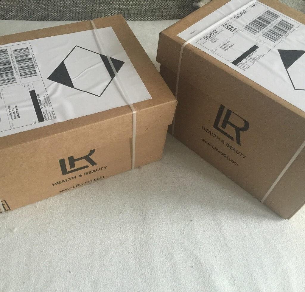 Erste LR Bestellung – LR Pakete