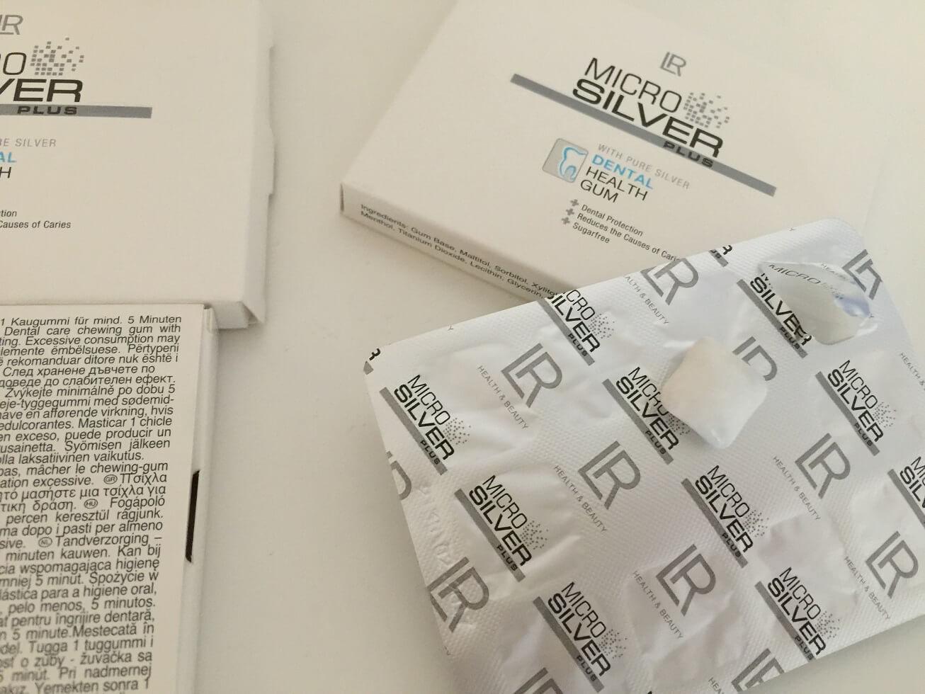 LR Microsilver Plus Zahnpflege Kaugummi Einzeln