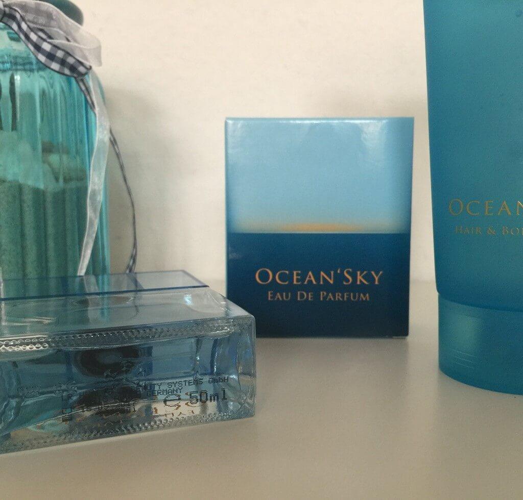LR Ocean Sky Parfum Flakon Unten