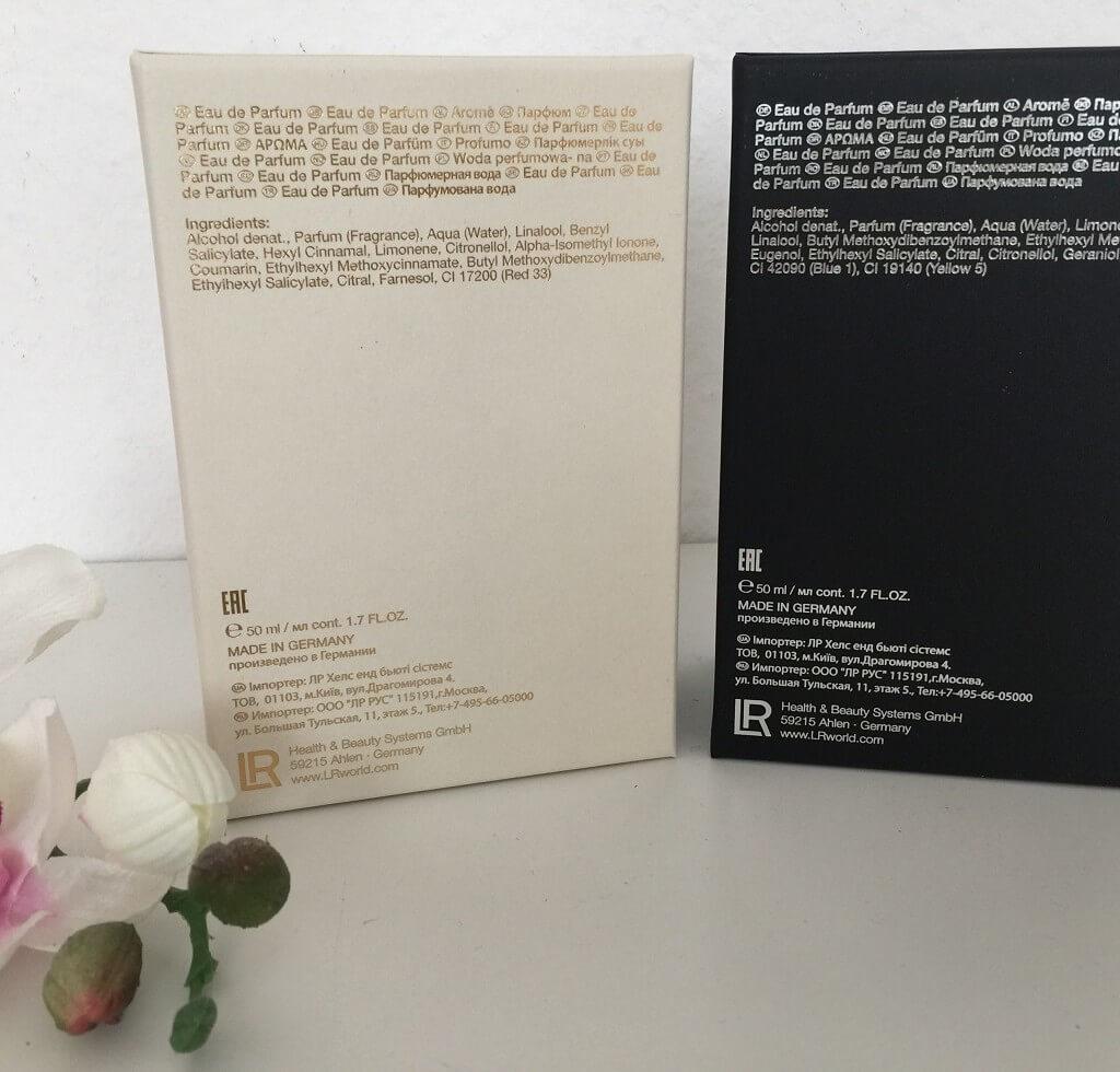 LR Parfum Guido Maria Kretschmer Duft Set Box hinten