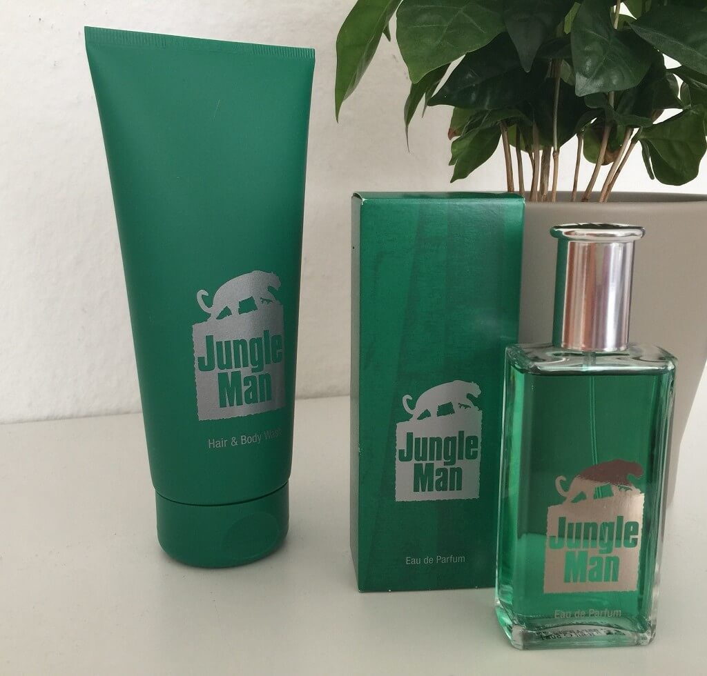 LR Parfum Jungle Man Duft Set 1 Nahaufnahme