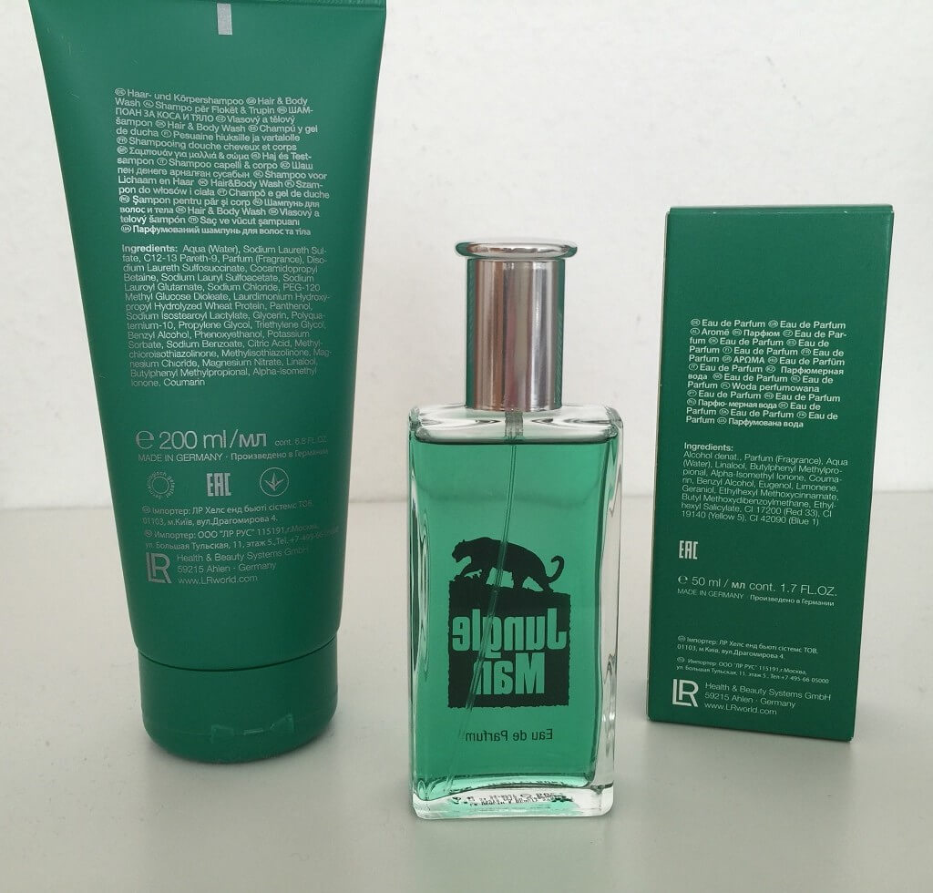 LR Parfum Jungle Man hinten