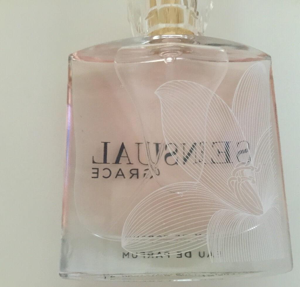 LR Sensual Grace Parfum Flakon Hinten