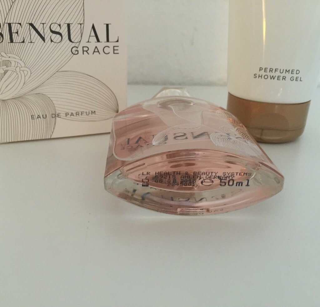 LR Sensual Grace Parfum Flakon Unten