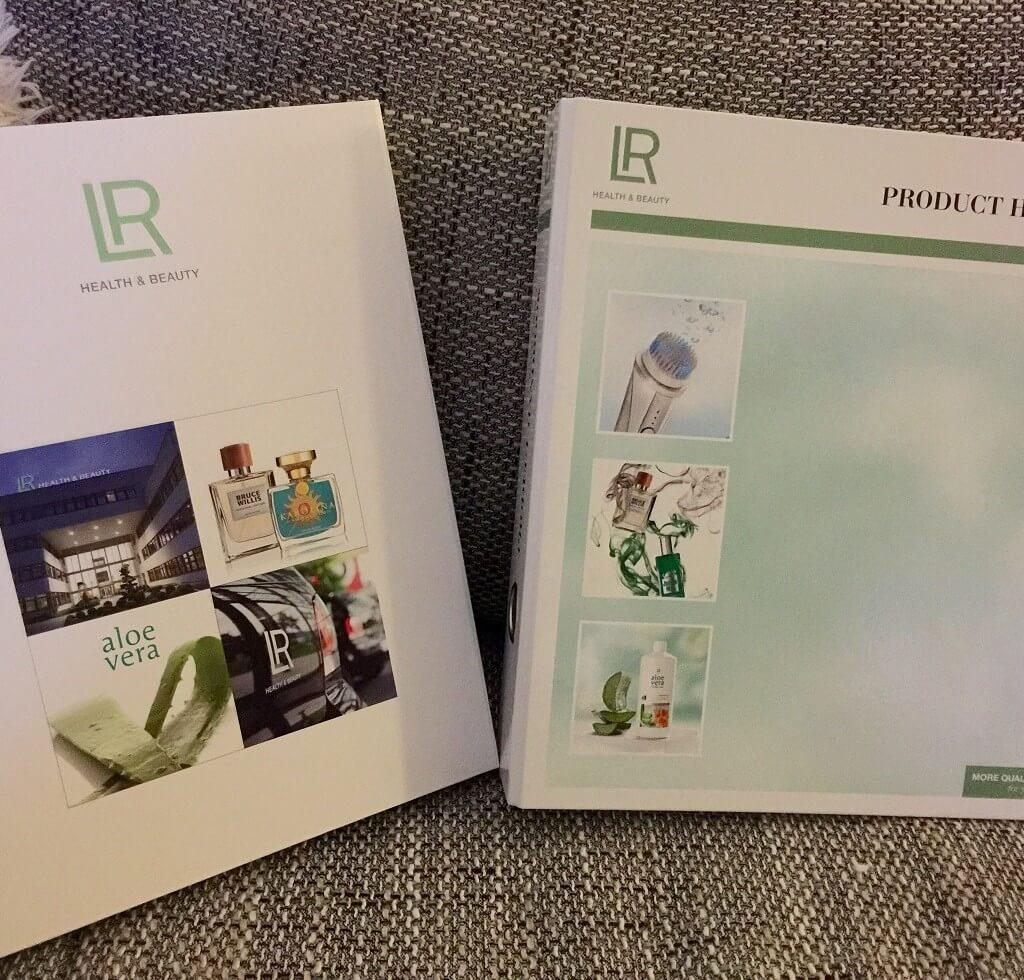 LR Welcomefolder – LR Produkthandbuch Oktober 2015
