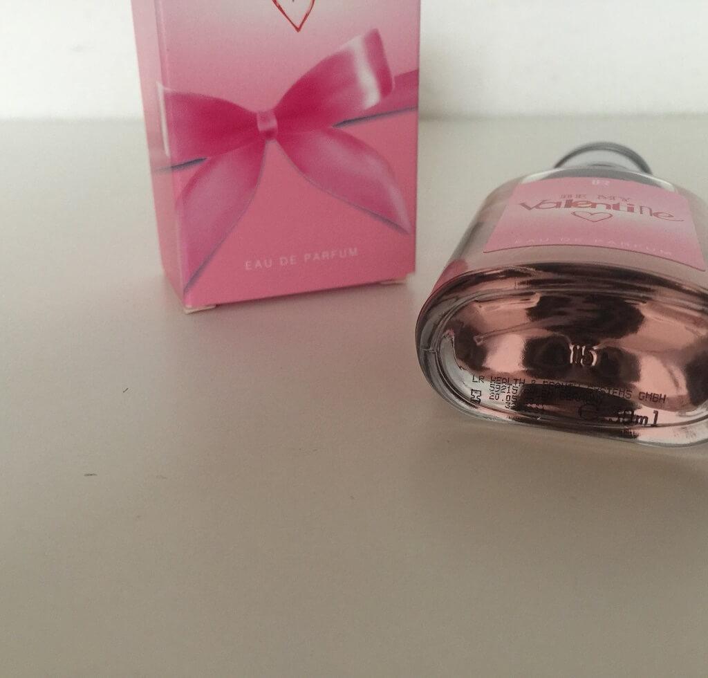 LR Parfum Be my Valentine Flakon unten