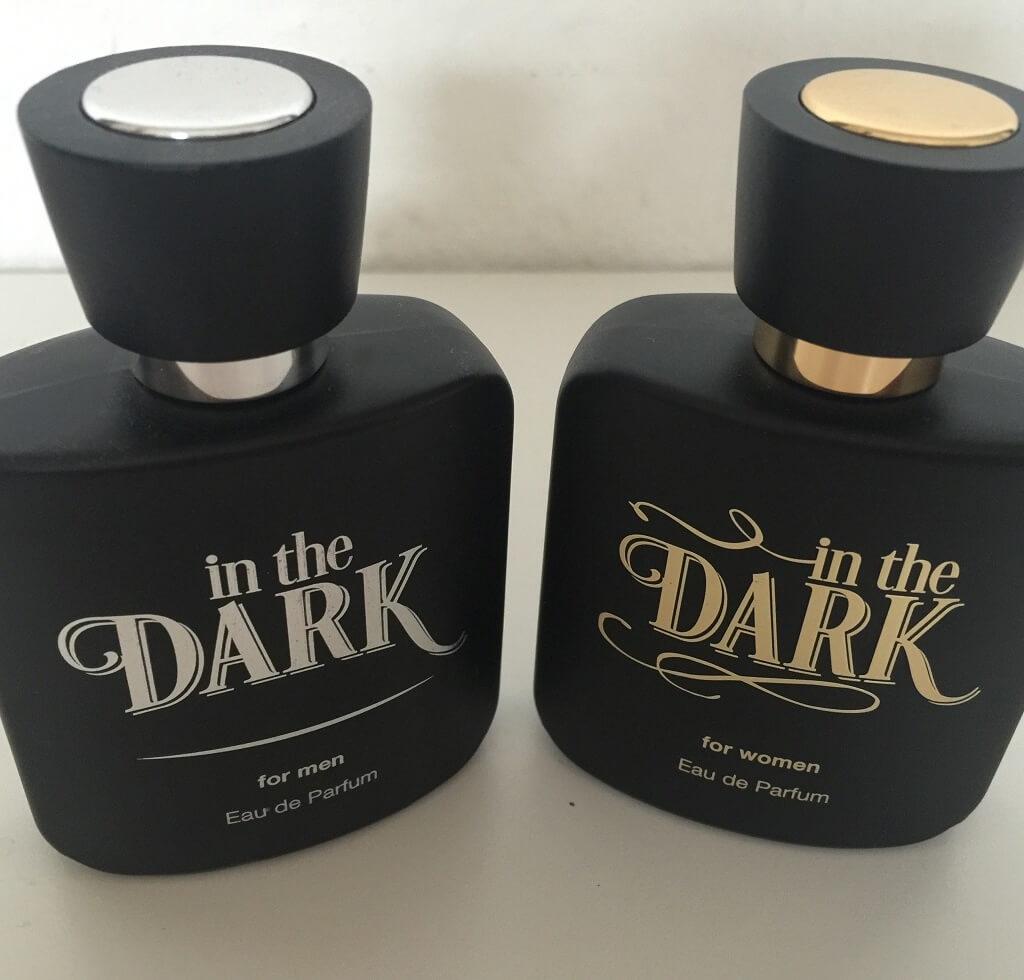 LR Parfum In the Dark Duft Set Limitiert Flakons vorn