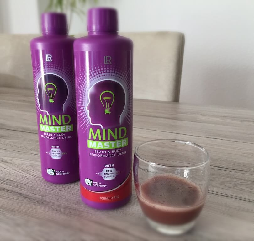 LR Mind Master Brain & Body Performance Drink – Formula Red Tagesdosis 80ml